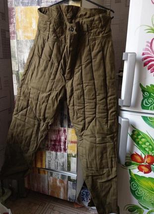 Штаны ватные размер 46-48