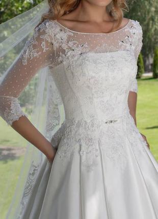 Свадебное платье, весільне плаття, дизайнерське від оксани мухи