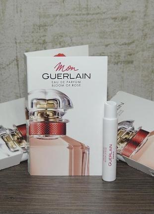 Guerlain mon guerlain bloom of rose eau de parfum 1 мл пробник 2020 год оригинал
