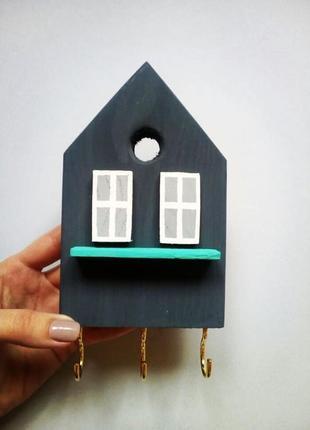Ключница домик,декор прихожей,украшение