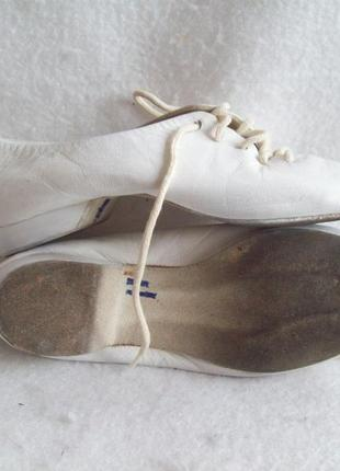Танцевальные туфли джазовки кожа