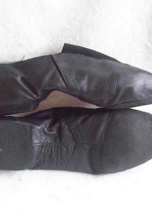 Туфли танцевальные джазовки кожа
