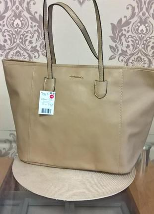 Весняно-літня сумка шопер від mango