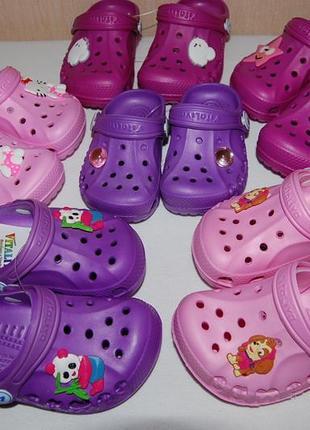 Новые сандалии, кроксы vitaliya украина, разные цвета и размеры.