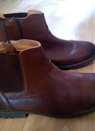 Кожание ботинки 47