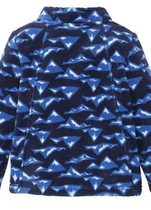 Мягкая флисовая кофта/куртка, лупилу р.98-116см2 фото