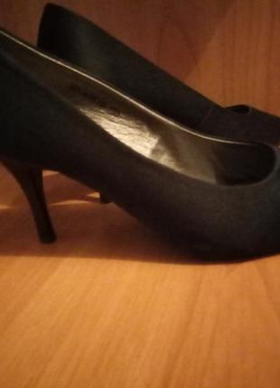 Туфли с открытым пальцем