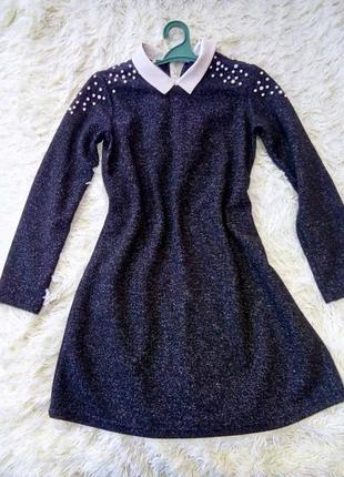 Плаття з комірцем
