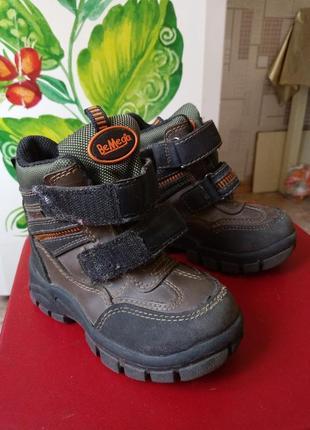 Ботинки сапоги утепленные детские р.25