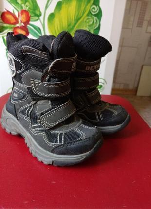 Ботинки, сапоги утепленные осень-зима, размер 26