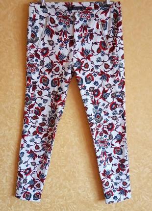 Лосины брюки zara/высокая талия/скинни 🔥сезонные скидки🔥