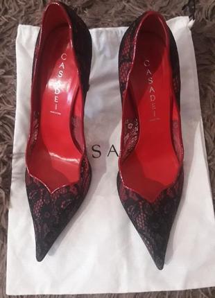Casadei оригинальные туфли
