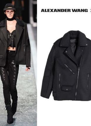 Дизайнерское пальто alexander wang x h&m, новое