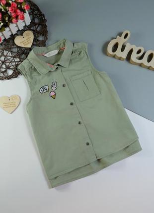 Рубашка на 10-11 лет/140-146 cм