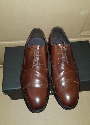 Мужские коричневые туфли zign, 40 размер