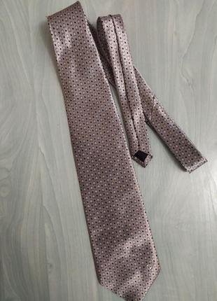 Шёлковый гарстук краватка шёлковая шолк v2 versace classic