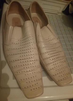 Туфли на лето кожа