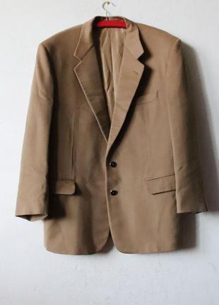 Винтажный пиджак 100% кашемир yves saint laurent loro piana