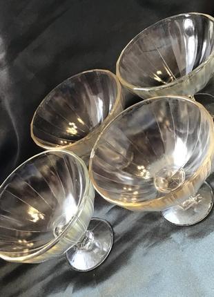 Креманка салатник стекло винтаж антиквариат