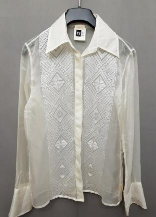 Прозрачная блузка gianfranco ferre