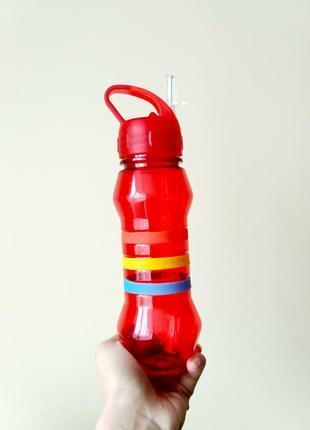 Пляшка поїлка для води спортивна