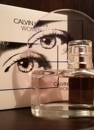 Calvin klein women кельвин кляйн парфюмированная вода 50 мл оригинал