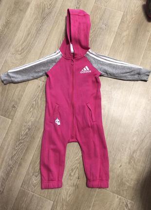 Adidas originals спортивный костюм- комбез