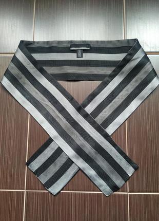 Шелковый мужской шарф