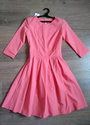 Платье gator, коралловый цвет