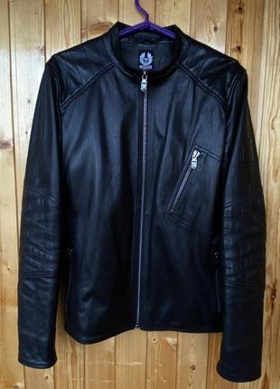 Belstaff кожаная куртка