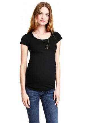 #розвантажуюсьh&m mama футболка для беременных, для беременной на лето весну, вагітним