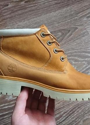 Ботинки нубуковые timberland оригинал размер 39
