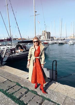 Красное платье италия  🇮🇹