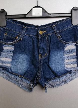 Короткие шорты рванки 10 размер