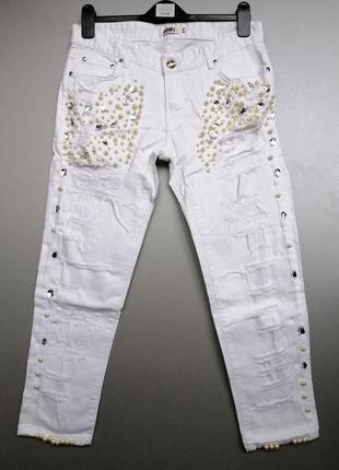 Бомбезные джинсы рванки amnezia 29 размер