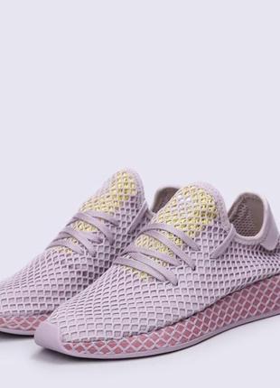 Кроссовки adidas deerupt violet