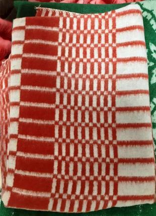 Теплое шерстяное одеяло !