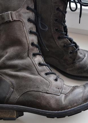 Landrover женские зимние сапоги ботинки 39р кожа