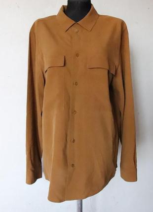 Рубашка cos 100% шелк