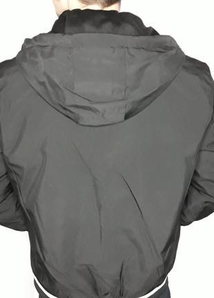 Куртка мужская на весну черная