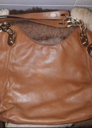 Брендовая сумка натуральная кожа