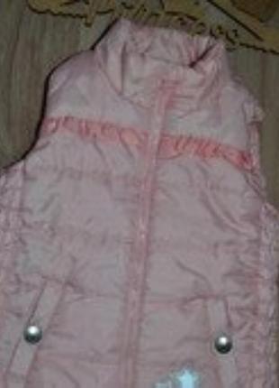Деми жилетка моднице сост отл lupilu 3-4г ц-225грн