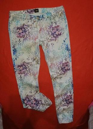 Красивые женские джинсы lee 29/31 в прекрасном состоянии
