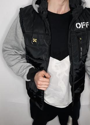 Куртка мужская демисезонная 2в1