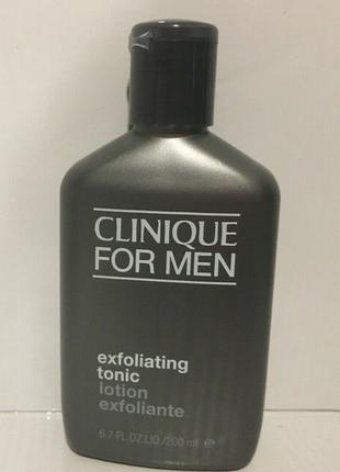 Отшелушивающий лосьон clinique  exfoliating tonic for men