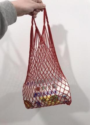 Сумка авоська, эко сумка, сетка винтаж новая