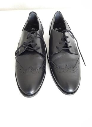 Туфли ботинки мужские тренд натуральная кожа asos оригинал