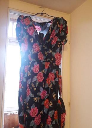 Платье на запах от new look1 фото