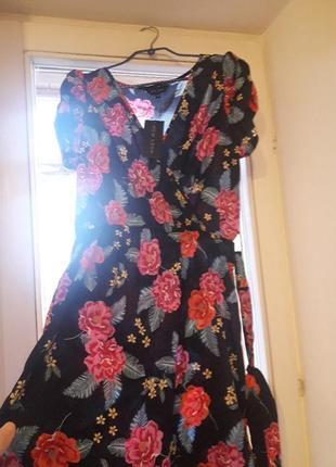 Платье на запах от new look2 фото