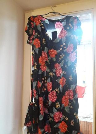 Платье на запах от new look3 фото